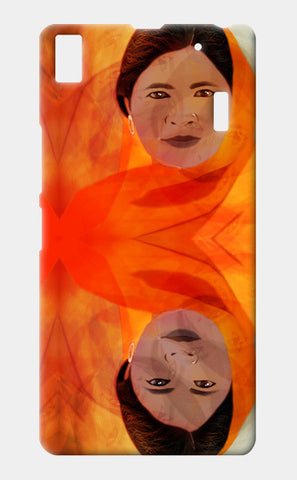 Becoming The Fire - Indian Woman Lenovo K3 Note Cases | Artist : Rameshwar Chawla