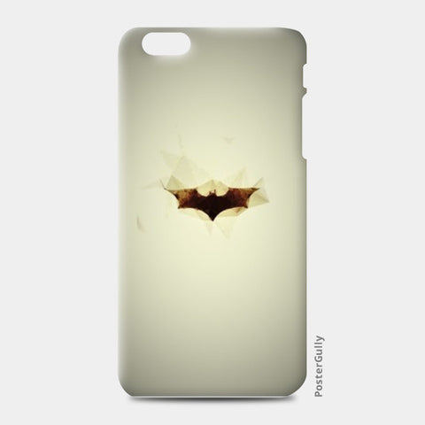 batman low poly (burning) iPhone 6 Plus/6S Plus Cases | Artist : Aakarsh Sharma