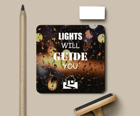 Coasters, Lights will guide you home | Coldplay Coasters | Artist : Sarbani Mookherjee, - PosterGully
