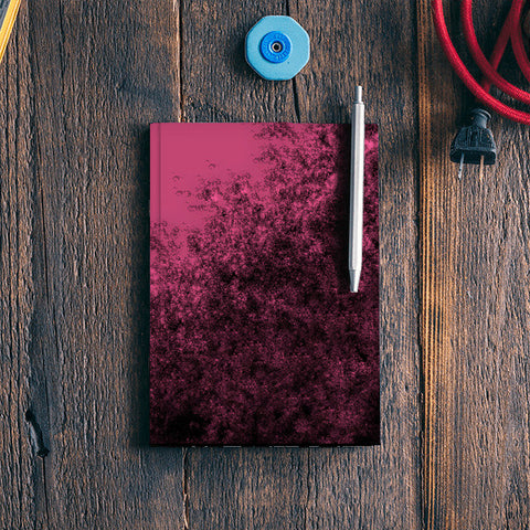 Pink tint Notebook | Artist : Sanju's works.