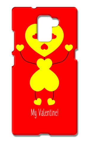 Bee My Valentine Huawei Honor 7 Cases | Artist : Designerchennai
