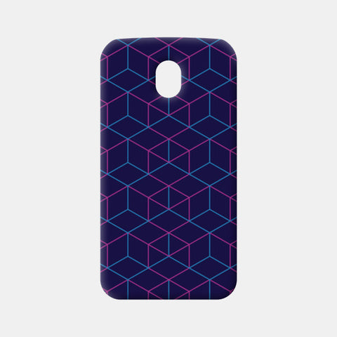 Moto G3 Cases, Isometric Pattern Moto G3 Cases | Artist : Jobin Jacob, - PosterGully