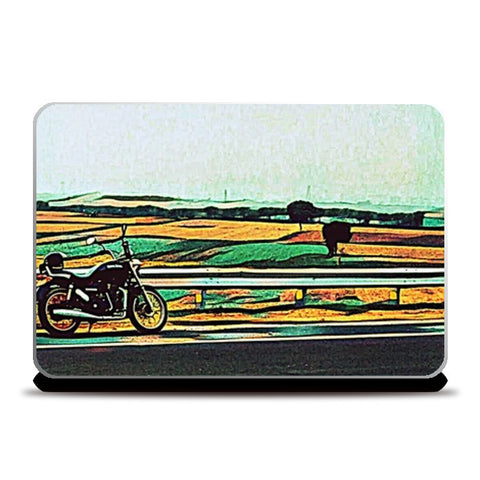 Royal Enfield Art Laptop Skins | Artist : Rockpire Designs