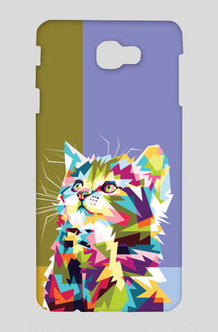 Colorfully Cat Hope Samsung On Nxt Cases | Artist : Inderpreet Singh