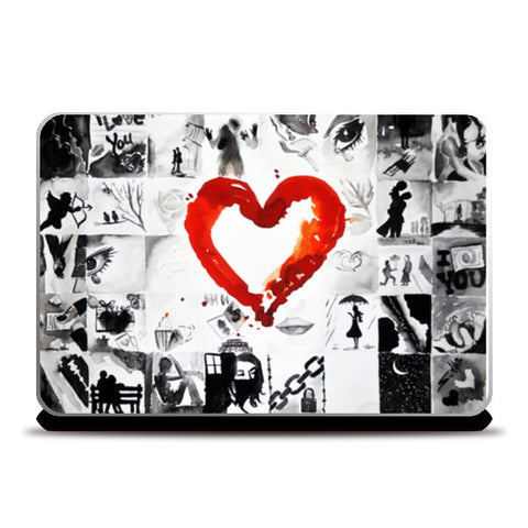 Laptop Skins, shade of love Laptop Skins | Artist : Sudhir Kumar, - PosterGully