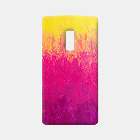 Yellow Pink Pastel One Plus Two Cases | Artist : Kanika Bardava