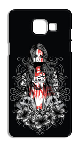 Girl With Tattoo Samsung Galaxy A5 2016 Cases | Artist : Inderpreet Singh