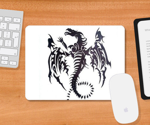 Mousepad, Dragon Pad Mousepad | Artist : Navdeep Sharma, - PosterGully