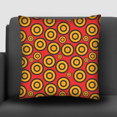 Retro Circle Abstract Design Cushion Covers | Artist : Designerchennai