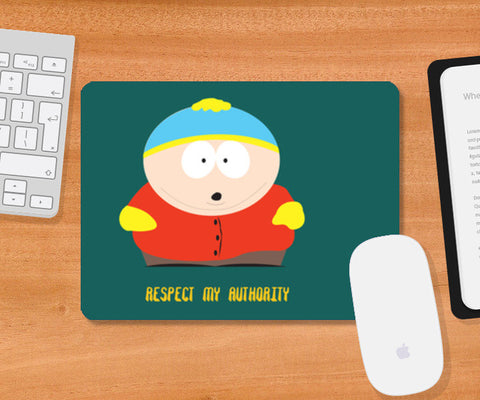South park cartman Mousepad | Artist : saumya singh