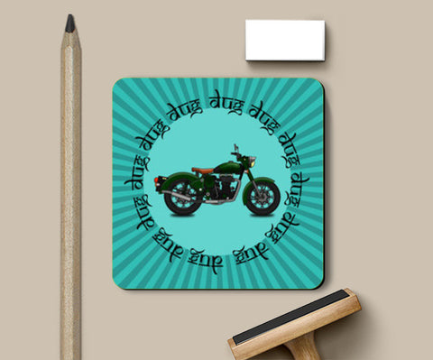 PosterGully Coasters, royal enfield Coasters | Artist : Himanshu Sood, - PosterGully