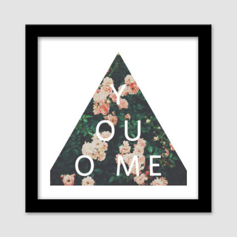 Premium Square Italian Wooden Frames, you owe me Premium Square Italian Wooden Frames | Artist : art_riot, - PosterGully - 1