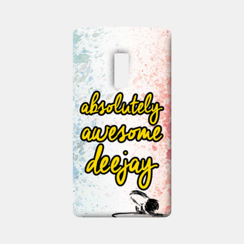 One Plus Two Cases, Absolutely Awesome DJ One Plus Two Cases | Artist : DJ Ravish, - PosterGully