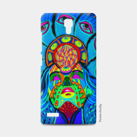 psychedelica Redmi Note Cases | Artist : Malay Jain