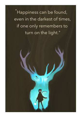 Harry Potter Quote Wall Art | Artist : saurabhzuve