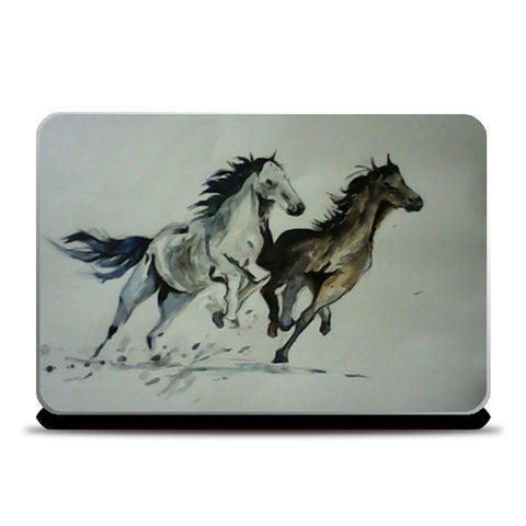 Two Horses Laptop Skins | Artist : Papo Mukherjee