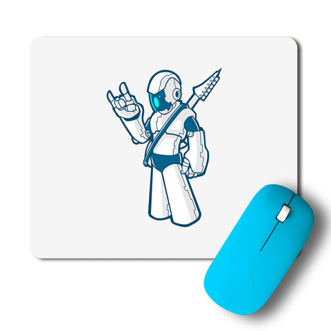 Rock Robot Cyborg Artwork Mousepad