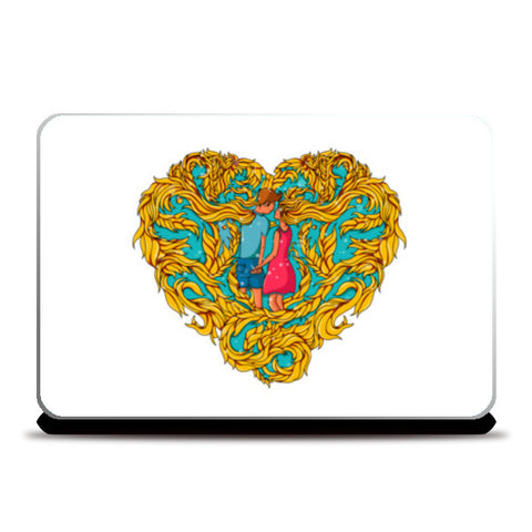 Forever in Love Laptop Skins | Artist : Harsimran sain