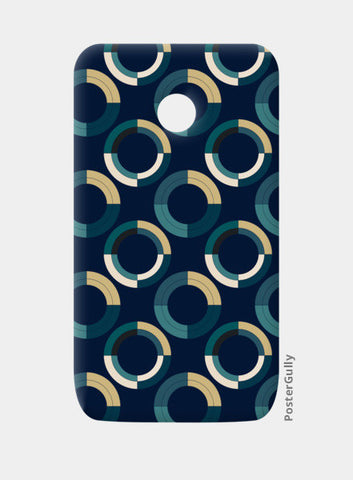 Fashionable 3d circle pattern Moto E Cases | Artist : Designerchennai