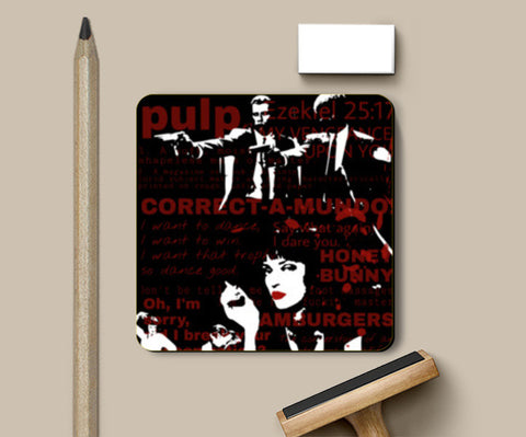 PULP FICTION Coasters | Artist : SREY