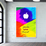 Apple Perfection - Jhootha Nahi Pasand Giant Poster | Artist : Miraculous
