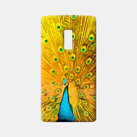One Plus Two Cases, The Golden Peacock Artwork One Plus Two Cases | Artist : Design_Dazzlers, - PosterGully