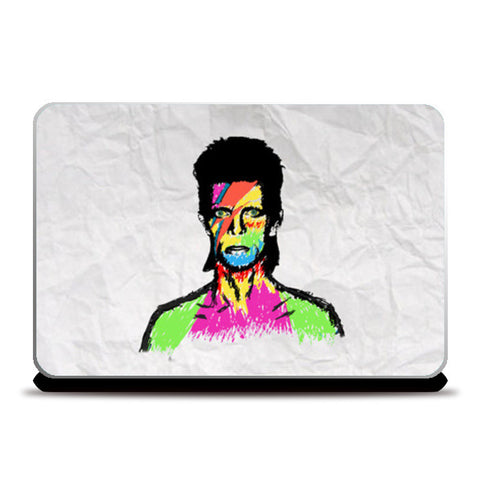 Laptop Skins, David Bowie Laptop Skins | Artist : Dr. Green, - PosterGully