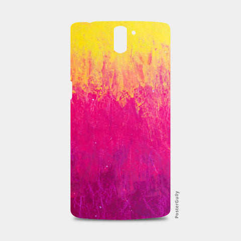 Yellow Pink Pastel One Plus One Cases | Artist : Kanika Bardava