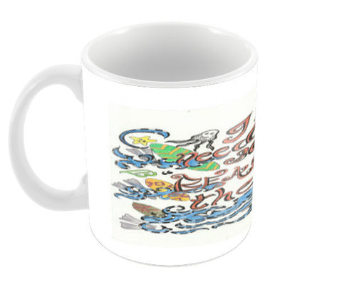 beach therapy Coffee Mugs | Artist : Suneera Heloise Mendonsa