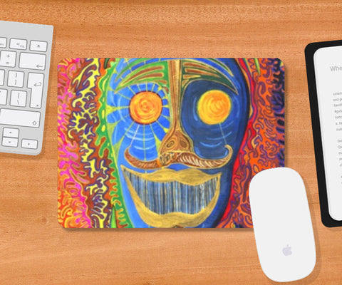 Mousepad, The Face of the श्रमण Mousepad | Artist : Luke's Art Voyage, - PosterGully
