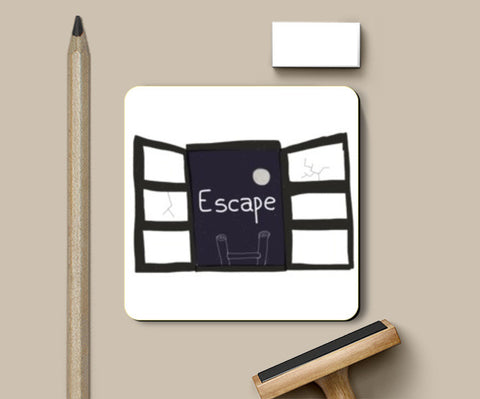 Coasters, Escape Coasters | Artist : saurabhzuve, - PosterGully