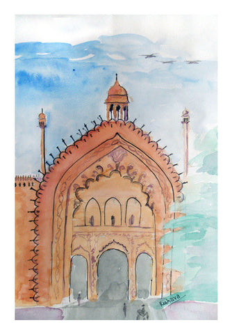Lucknow Rumi Gate Art PosterGully Specials
