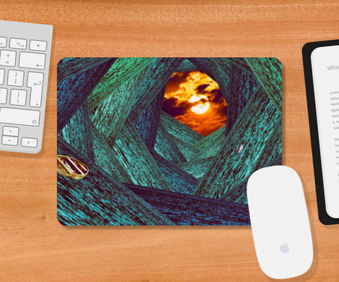 All Around Ocean Mousepad | Artist : Adyot Rajadhyaksha