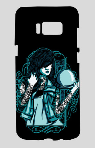Woman With Tattoos Samsung Galaxy S8 Cases | Artist : Inderpreet Singh