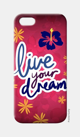 Live your Dream iPhone 5 Cases | Artist : Pallavi Rawal