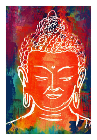 Wall Art, Lord Buddha Wall Art | Artist: Deepak Gupta, - PosterGully