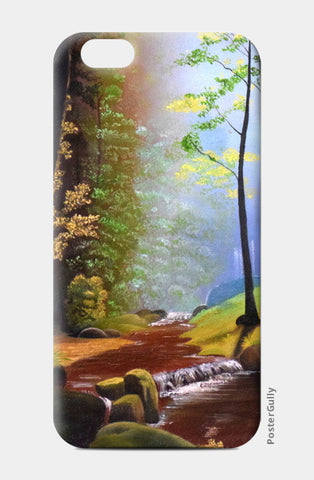 Forest Oil Painting iPhone 6/6S Cases | Artist : Rahul Tanwar