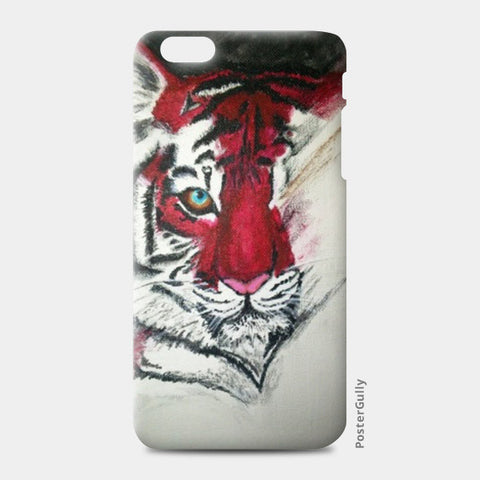 iPhone 6/6S Plus Cases, Fading Tiger iPhone 6 Plus/6S Plus Cases | Artist : Creative Cosmos by Aashna Aasif, - PosterGully