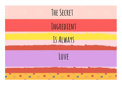 The secret Indredient Wall Art  | Artist : Pallavi Rawal