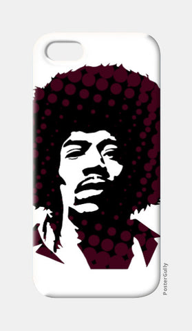 iPhone 5 Cases, Jimi Hendrix iPhone 5 Case | Artist: Athul Menon, - PosterGully