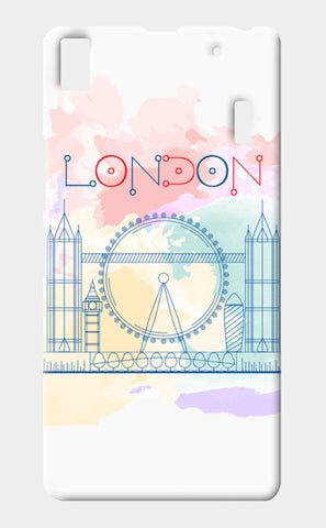 London Lenovo K3 Note Cases | Artist : Designerchennai