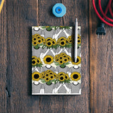 Sunflowers Collage Notebook | Artist : Priyanka Paul