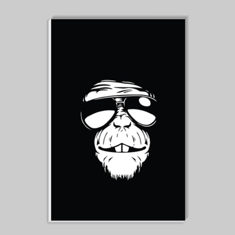 Monkey Glasses Stick Ons | Artist : Inderpreet Singh