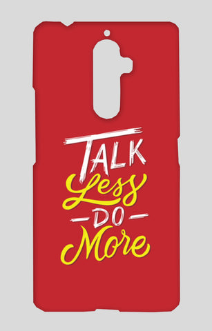 Talk Less Do More Lenovo K8 Note Cases | Artist : Inderpreet Singh