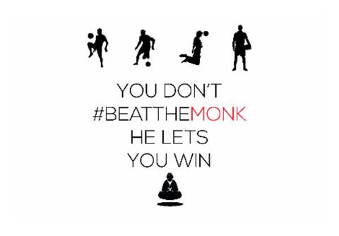 PosterGully Specials, #BeattheMonk | Artist : GamingMonk | PosterGully Specials, - PosterGully