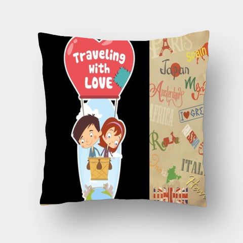 Cushion Covers, Travelling  Cushion Covers | Artist : Paresh Godhwani, - PosterGully