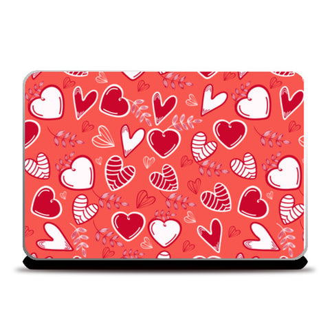 Heart With Multi Shapes Laptop Skins | Artist : Creative DJ