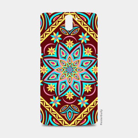 One Plus One Cases, Colourful Mandala One Plus One Cases | Artist : Madhumita Mukherjee, - PosterGully