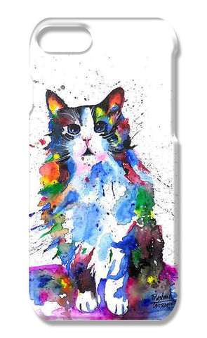 CLARITY | ARTWORK | CAT  iPhone 7 Cases | Artist : Prashant Singh