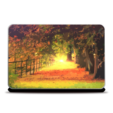 Nature Laptop Skins | Artist : Delusion | Special Deal - Size 15.6""